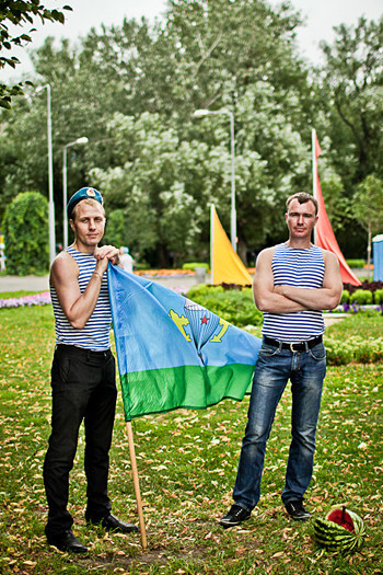 Фоторепортаж: День ВДВ в парке Горького. Изображение № 39.