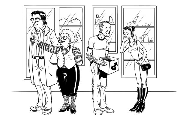Как всё устроено: Сотрудник секс-шопа. Изображение № 1.