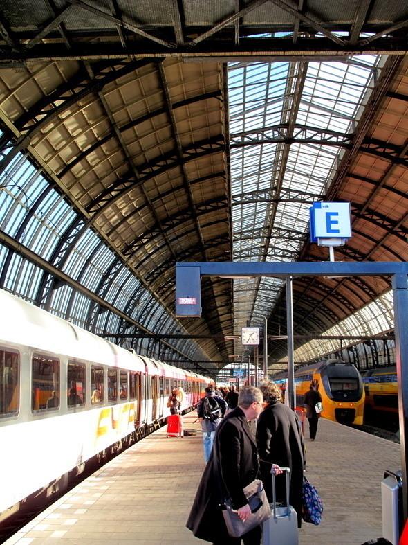 на станции центрального вокзала
