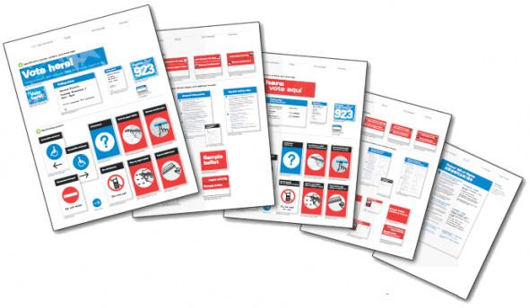 Public Design Lab объединяет усилия разных дизайнерский бюро, для того чтобы сделать общественные услуги в США более доступными. Начиная с модернизации избирательных бюллетеней и сопутствующих бумаг.... Изображение № 33.