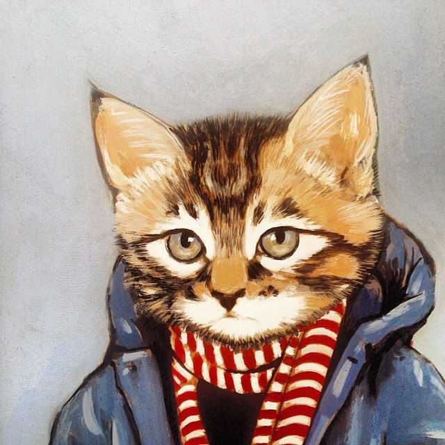 Музейные коты вснимках Instagram. Изображение № 21.