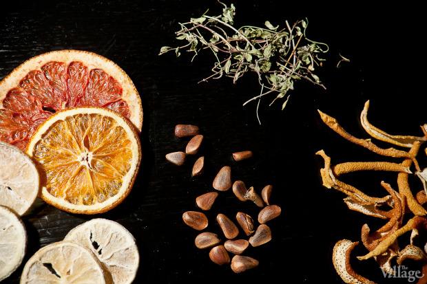 Так же делают из фруктов, трав и орехов. . Изображение № 8.