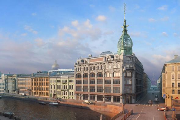 «Магазинъ у Краснаго моста» на Мойке откроется в декабре. Изображение № 2.