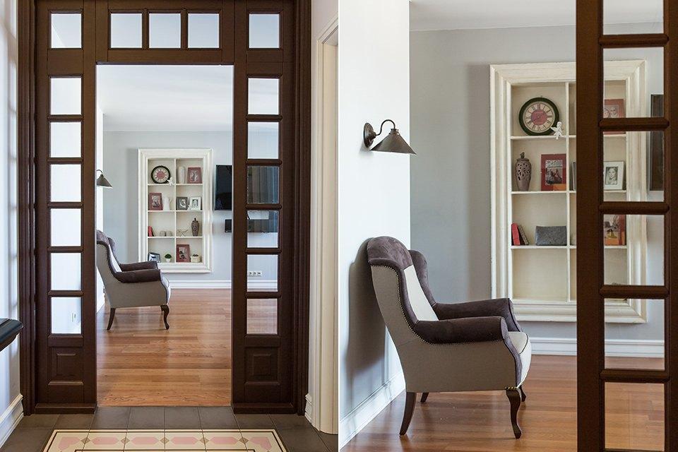Большая квартира для семьи на«Нагатинской» с кабинетом илимонной ванной. Изображение № 36.
