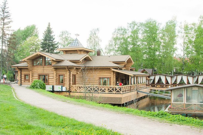 ресторан.русская рыбалка