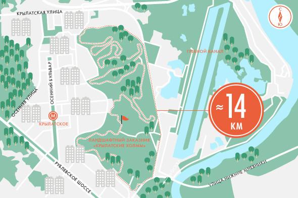 Пять маршрутов для пробежек. Изображение № 13.