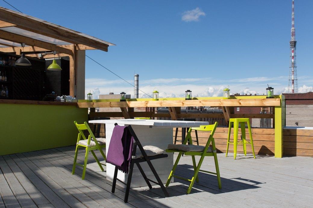 Botanique Bar на крыше «Ленполиграфмаша». Изображение № 1.
