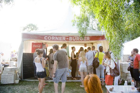 Шатер Corner Burger в зоне барбекю. Изображение № 33.