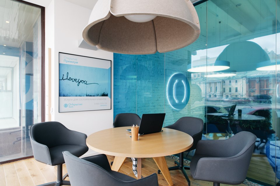Отделение банка«Открытие», совмещённое с кофейней. Изображение № 22.
