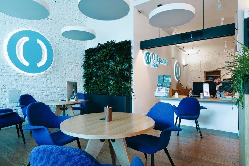 Отделение банка«Открытие», совмещённое с кофейней. Изображение № 4.