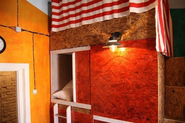 На улице Марата открылся хостел Burano. Изображение № 3.