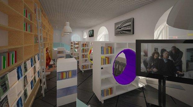 Библиотеку Гоголя откроют в экспериментальном формате. Изображение № 5.