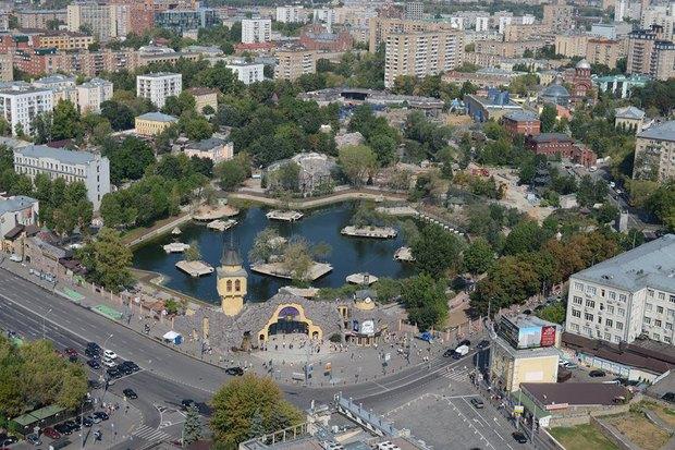 Старая территория московского зоопарка после реконструкции. Изображение № 1.