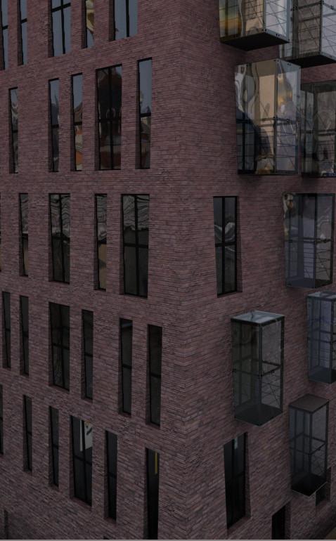 Изображение 6. В Москве появится жилой комплекс для ценителей искусства.. Изображение № 4.