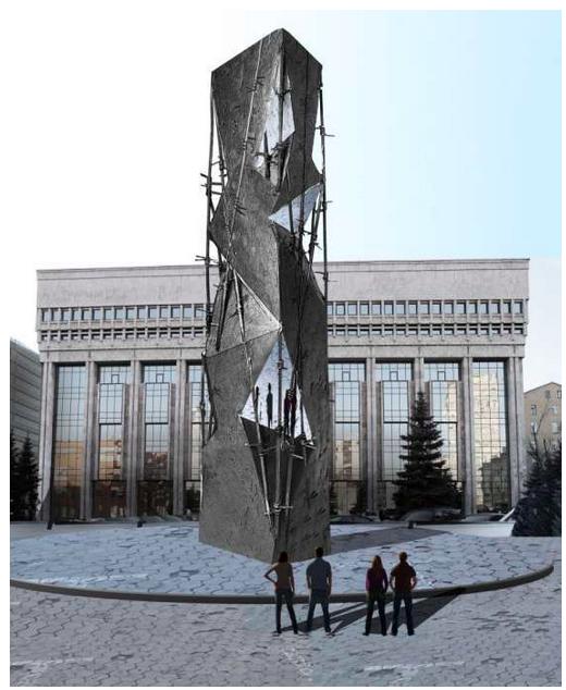 В Москве выбрали автора памятника жертвам политических репрессий. Изображение № 2.