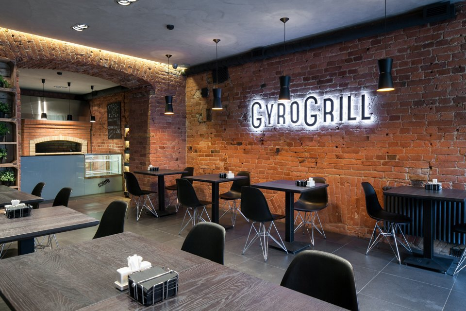 Кафе GyroGrill на Литейном. Изображение № 1.