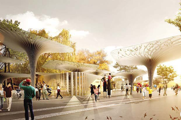 Парк «Ходынское поле» построят попроекту LAND Milano Srl.. Изображение № 4.