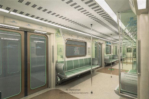 Дизайнеры предложили Метрополитену проект новых вагонов. Изображение № 1.
