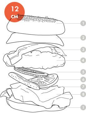 Между булок: Что внутри у самых больших московских бургеров, часть 2. Изображение № 62.