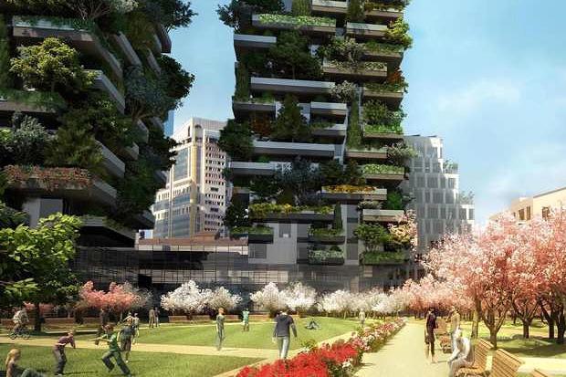 Идеи для города: Вертикальный лес вцентре Милана. Изображение № 5.