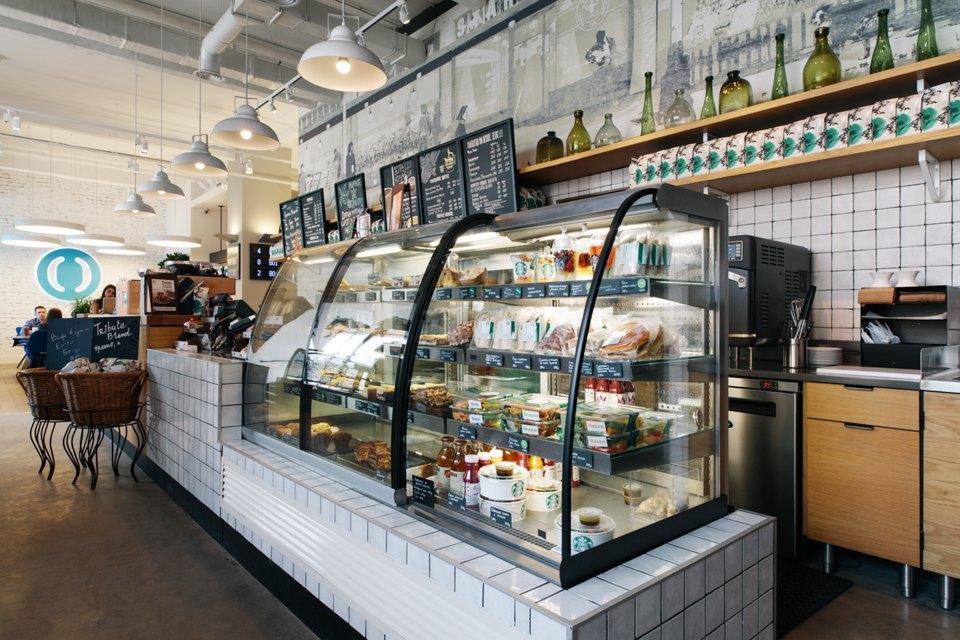 Отделение банка«Открытие», совмещённое с кофейней. Изображение № 24.