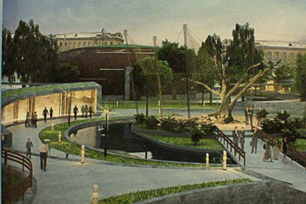 Ленинградский зоопарк опубликовал проект реконструкции. Изображение № 2.
