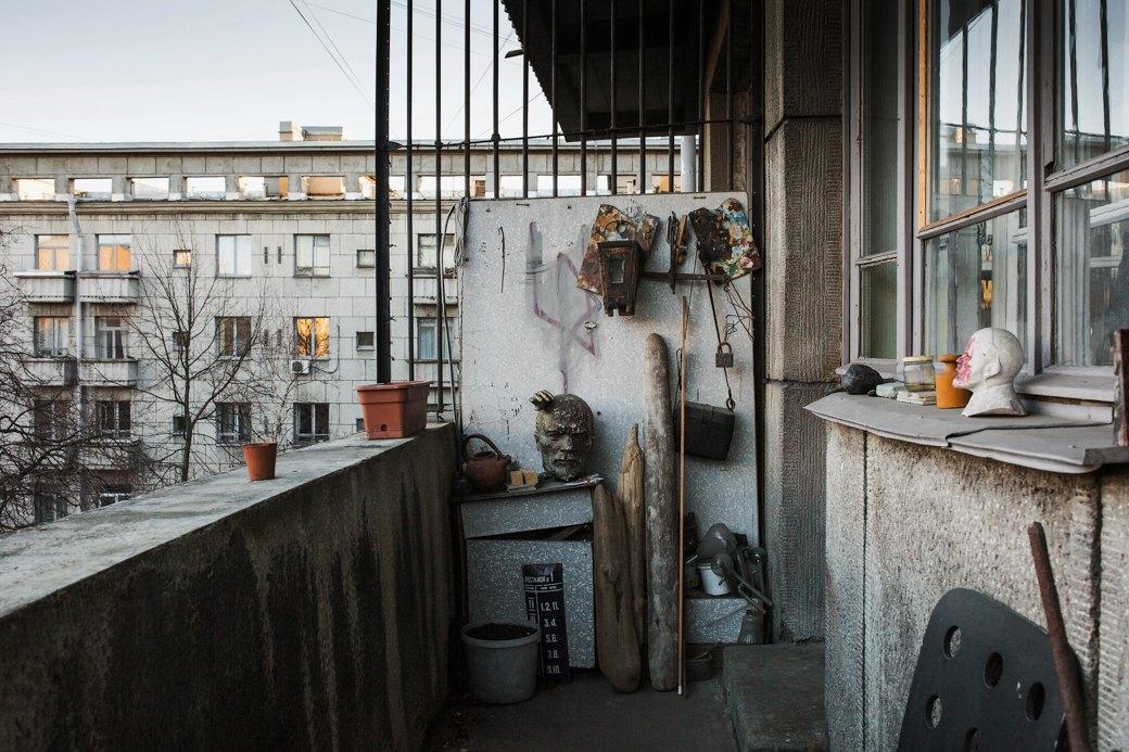 Яживу вдоме Ленсовета наКарповке (Петербург). Изображение № 16.