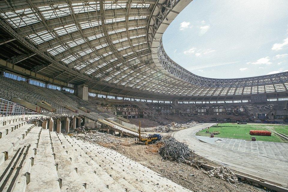 Как сейчас выглядит стадион «Лужники». Изображение № 6.