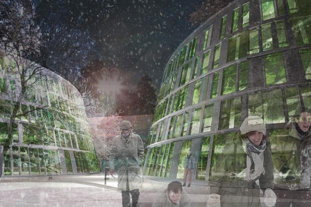 Что делать с электростанцией на Балчуге: 5 проектов студентов МАРХИ. Изображение № 4.