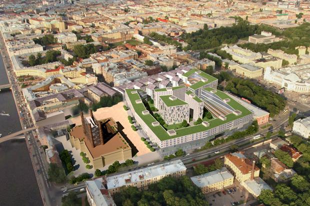 10 проектов квартала около Витебского вокзала . Изображение № 1.