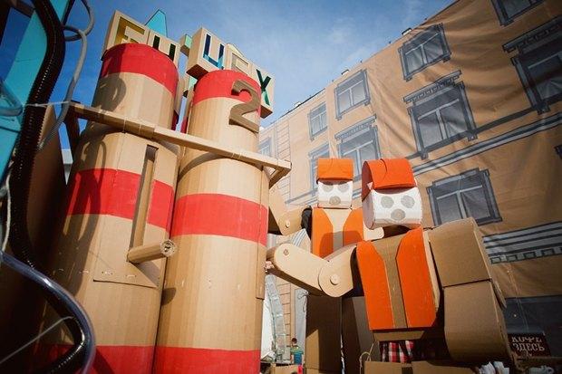 В Культурном центре «Москвич» покажут перформанс находулях. Изображение № 2.