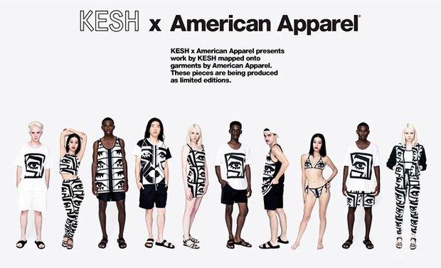 Рекламная кампания American Apparel KESH. Изображение № 5.