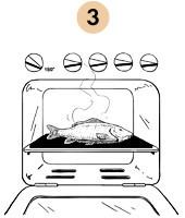 Рецепты шефов: Запечённый с травами карп с соусом из оливок и томатов. Изображение № 6.