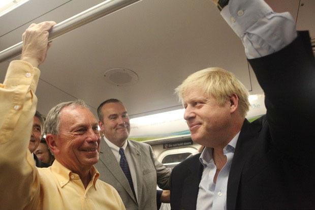 С мэром Лондона Борисом Джонсоном. Изображение № 69.