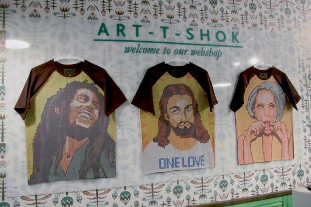 Art-T-Shok открыли третью студию на Малой Садовой. Изображение № 3.