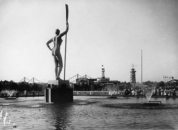 Парк Горького, 1939 год