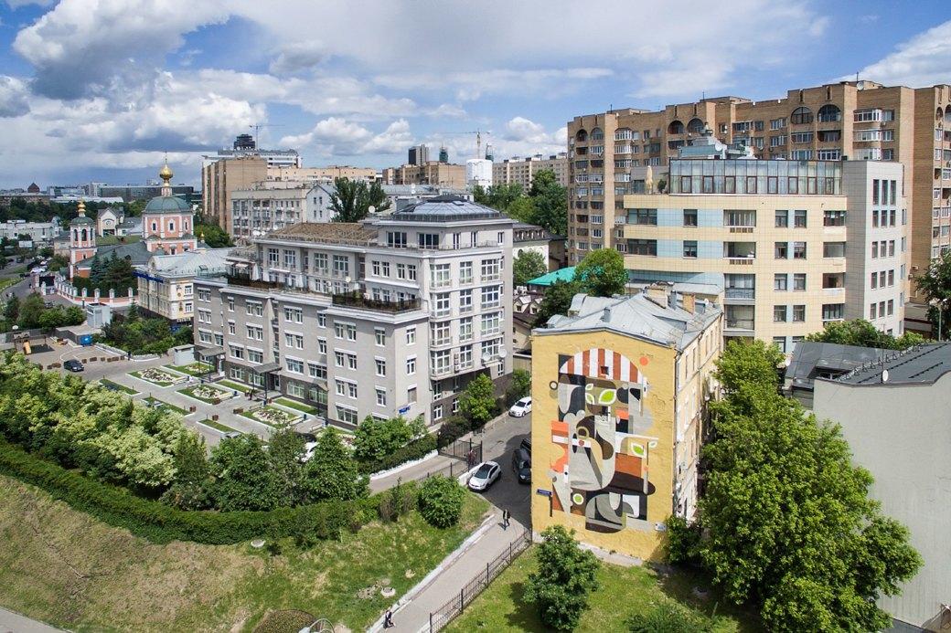 Лучшие московские граффити свысоты птичьего полёта. Изображение № 3.