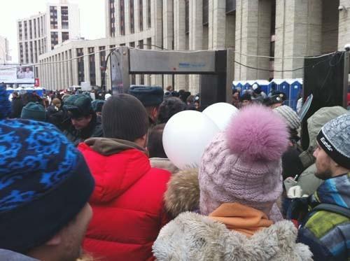 Прямая трансляция: Митинг «За честные выборы» на проспекте академика Сахарова. Изображение № 86.