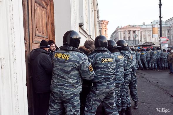 Фоторепортаж: Митинг 5 марта на Исаакиевской площади. Изображение № 19.