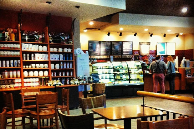 Starbucks в Москве. Изображение № 1.