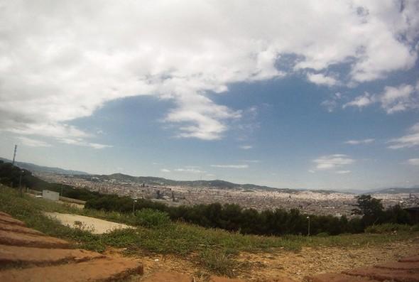 Вид на Барселону с горы Монжуик. Изображение № 5.