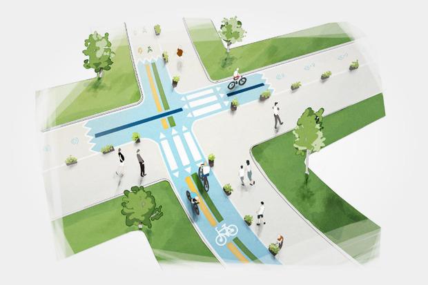 Власти рассказали оперспективах велодвижения вМоскве. Изображение № 19.
