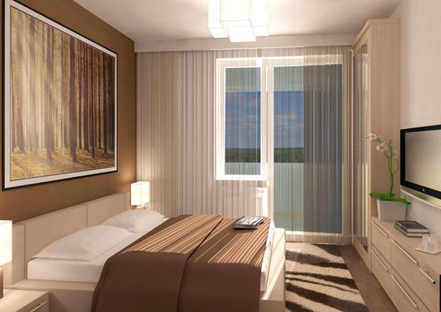Пример отделки квартиры вМикрогороде «Влесу». Изображение № 21.