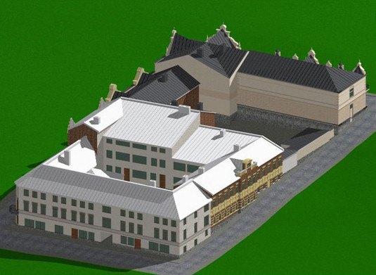 Визуализация квартала. Изображение № 3.