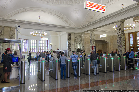 Станция «Парк Культуры» открылась для пассажиров. Изображение № 4.