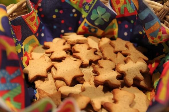 Ароматное имбирное печенье. Изображение № 4.