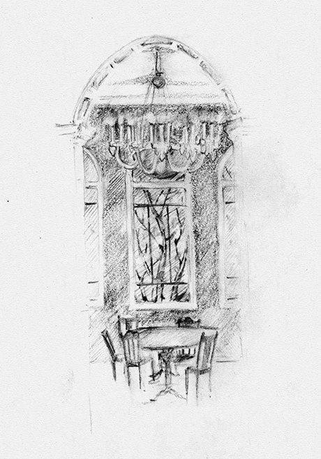 Клуб рисовальщиков: Особняк 1896 года. Изображение № 8.