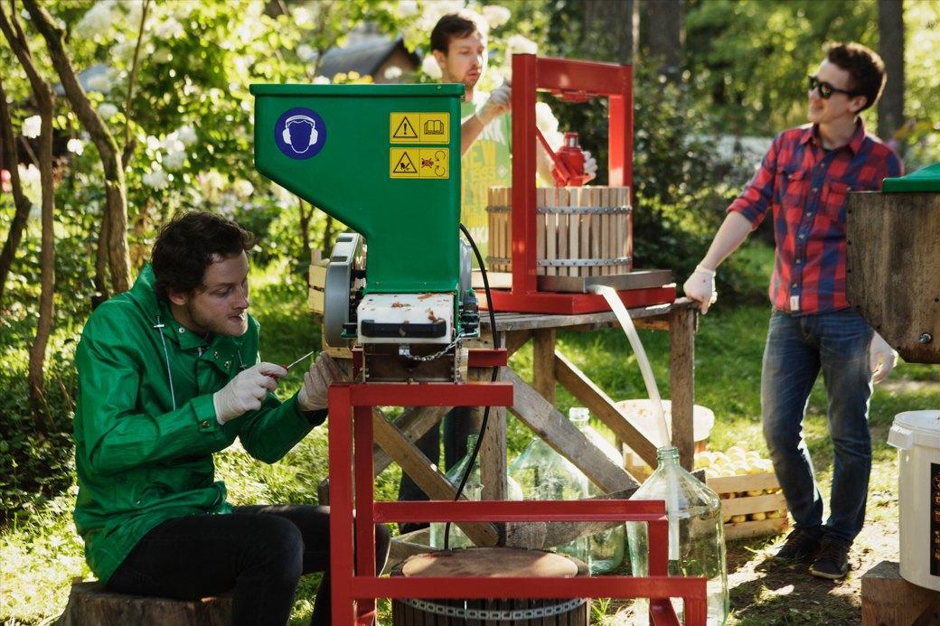 Партия «Яблоко»: Как организовать производство сидра на даче . Изображение № 9.