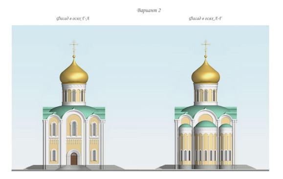 Около Академии ФСБ построят модульный храм. Изображение № 9.