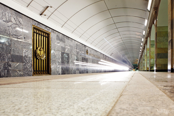 Фоторепортаж: Станция метро «Адмиралтейская» изнутри. Изображение № 17.
